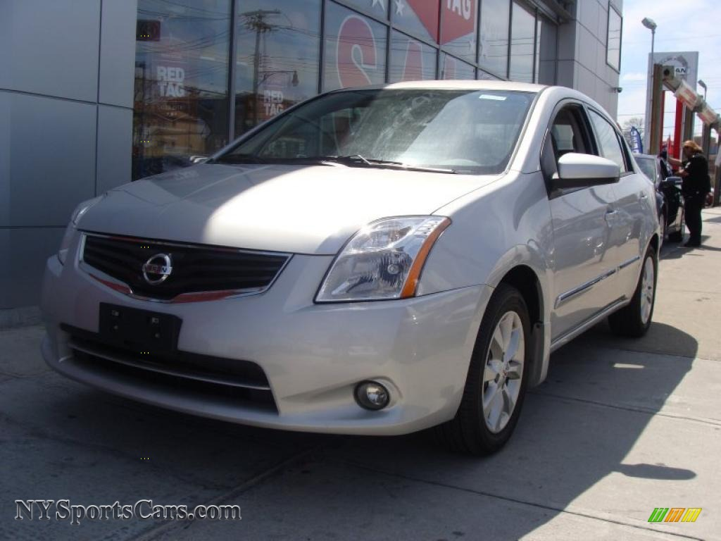 2010 Nissan Sentra 2 0 Sl In Brilliant Silver Metallic
