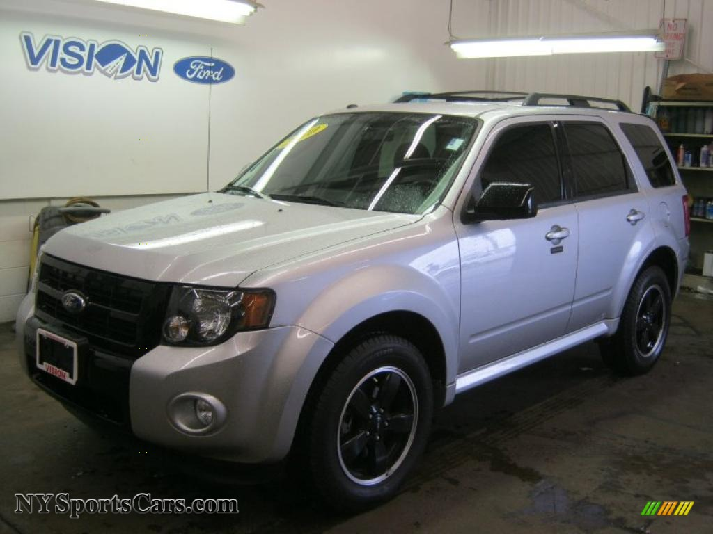 2010 Ford Escape XLT Sport Package in Ingot Silver Metallic - A94363 | NYSportsCars.com - Cars ...