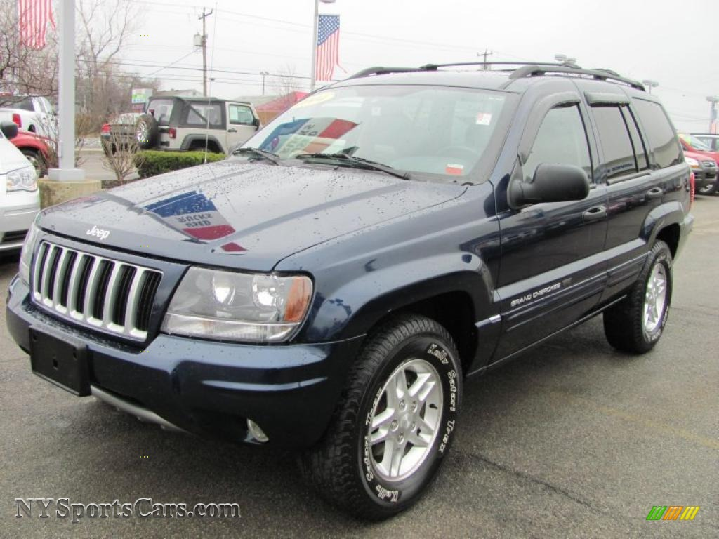 2004 jeep grand cherokee laredo 4x4 in midnight blue pearl. Black Bedroom Furniture Sets. Home Design Ideas
