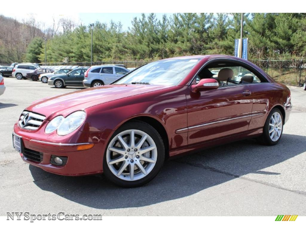 2007 mercedes benz clk 350 coupe in storm red metallic for Mercedes benz clk350 for sale