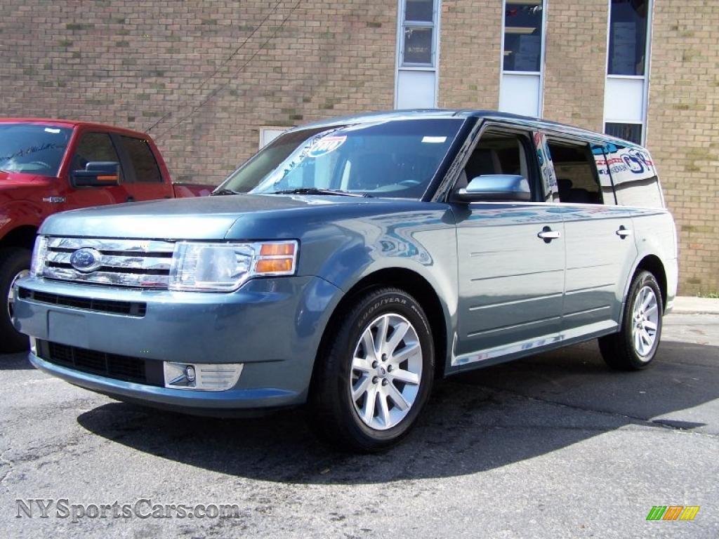 2010 ford flex sel in steel blue metallic b09980 cars for sale in new york. Black Bedroom Furniture Sets. Home Design Ideas
