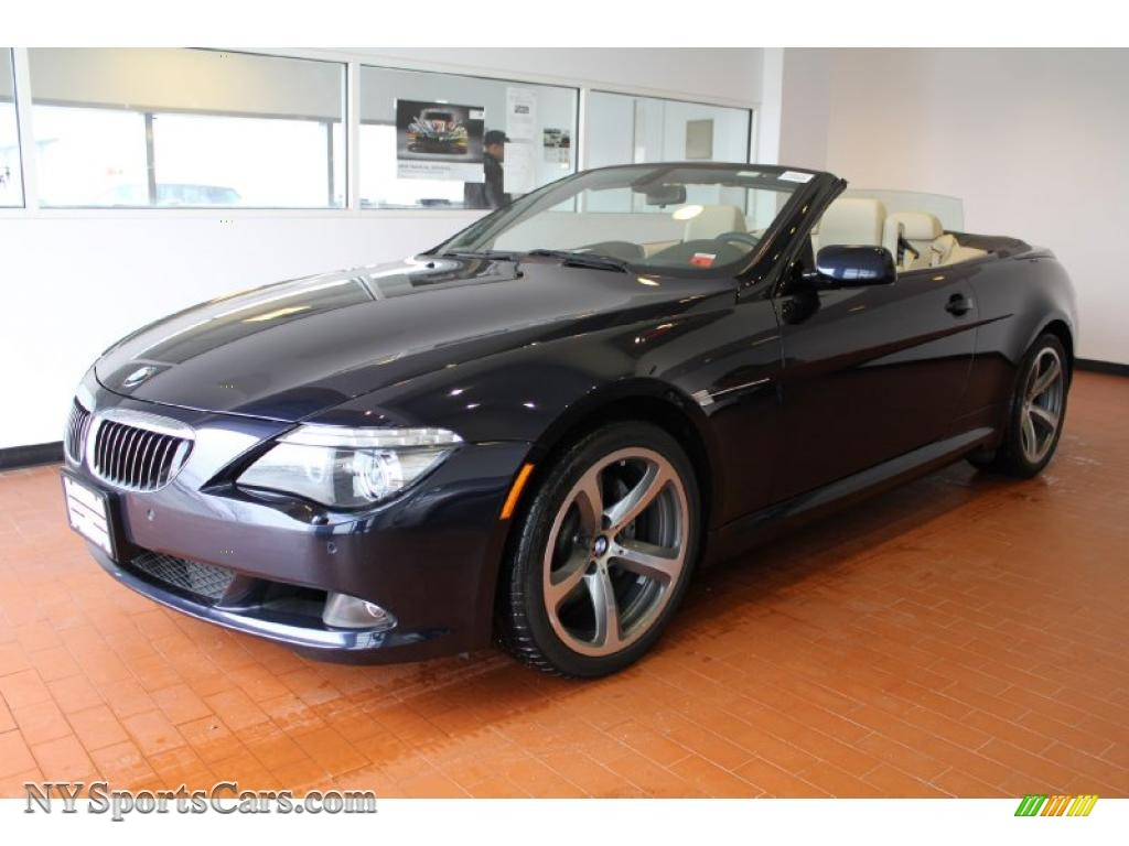 2008 bmw 6 series 650i convertible in monaco blue metallic x62287 cars. Black Bedroom Furniture Sets. Home Design Ideas