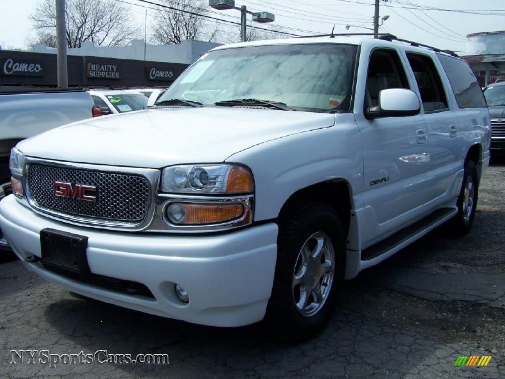 2002 Gmc Yukon Xl Denali Awd In Summit White 186087 Nysportscars Com Cars For Sale In New York