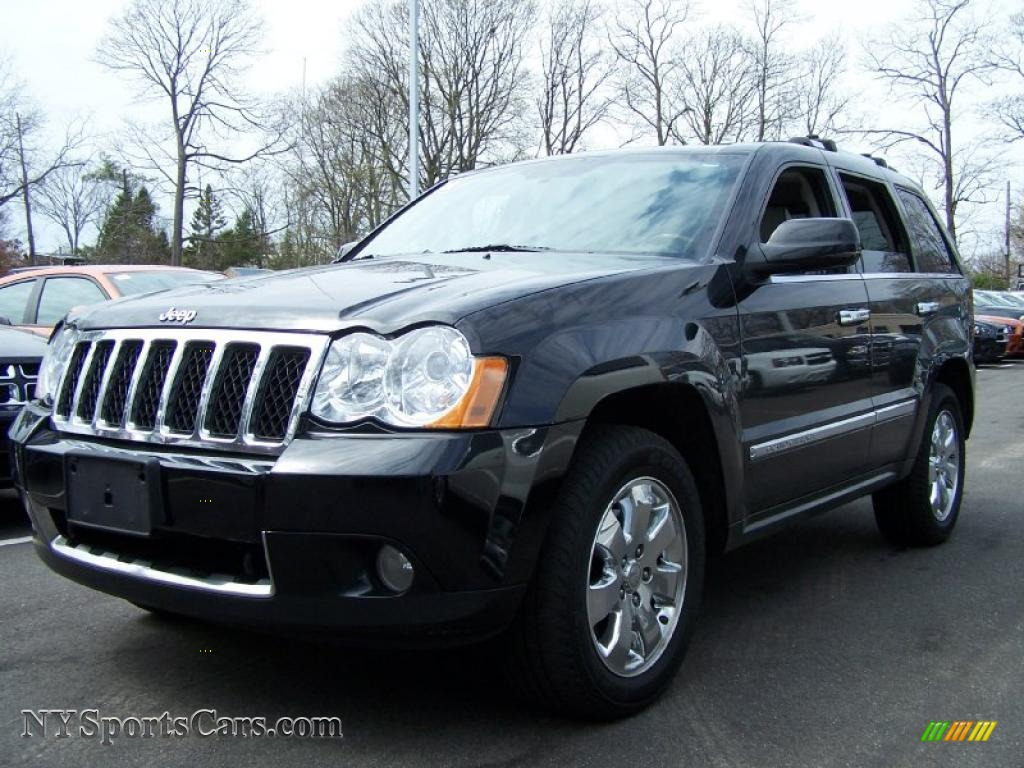 2008 Jeep Grand Cherokee Overland 4x4 In Black 213186