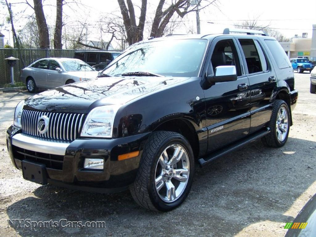 2008 Mercury Mountaineer Premier Awd In Black J17116