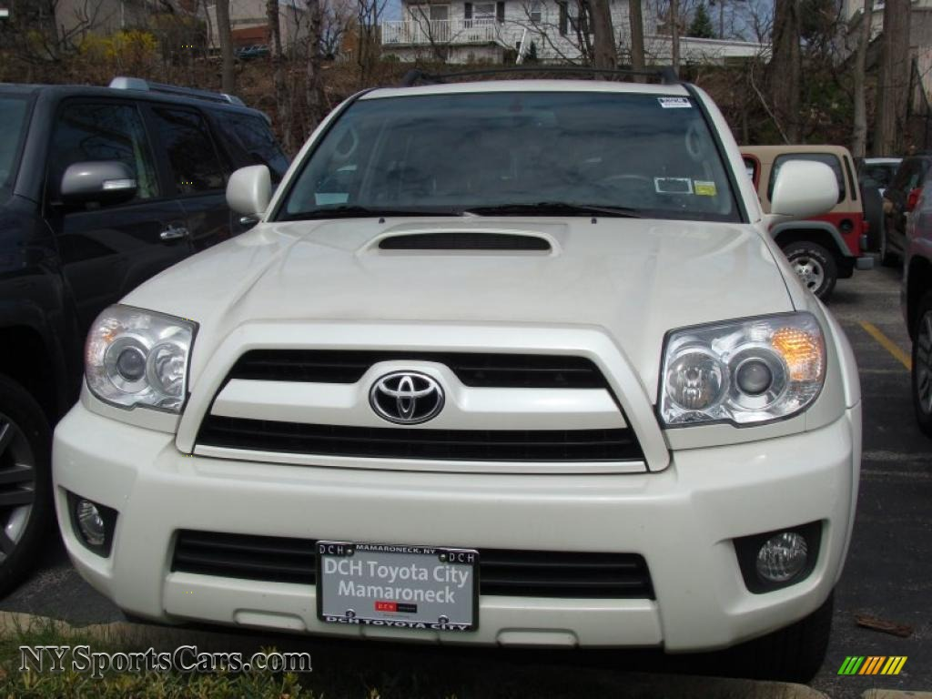 2008 toyota 4runner sport edition 4x4 in natural white 028156 cars for. Black Bedroom Furniture Sets. Home Design Ideas