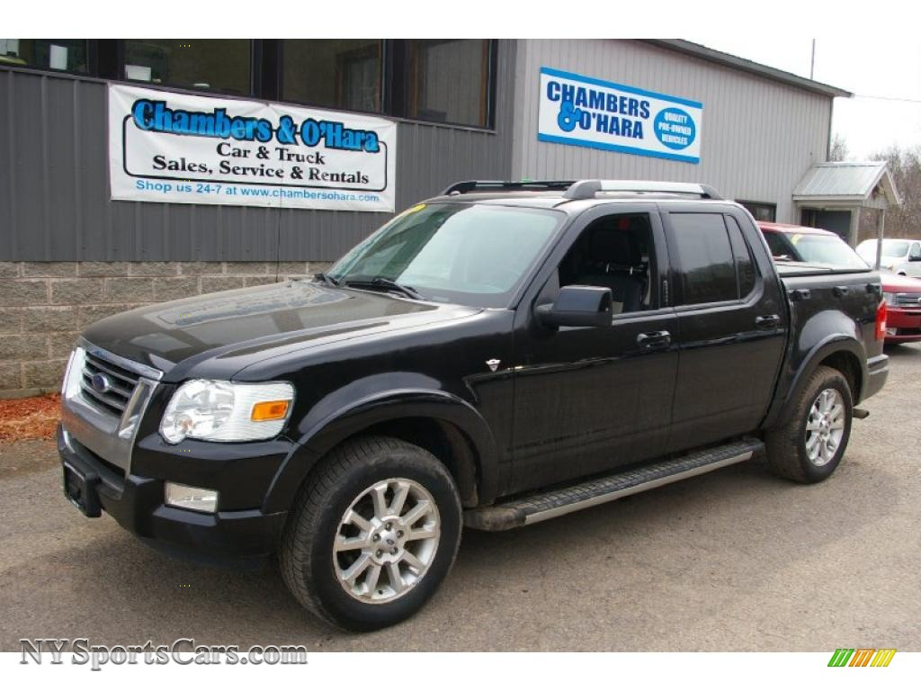 2007 ford explorer sport trac limited 4x4 in black a09235. Cars Review. Best American Auto & Cars Review