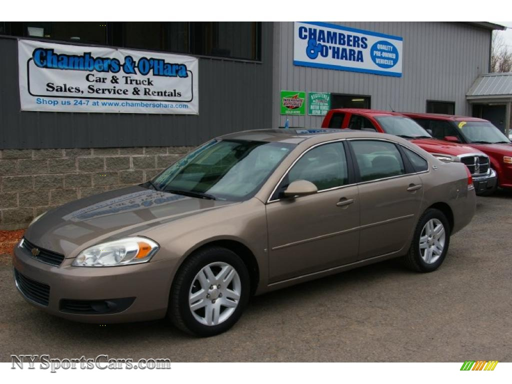 2006 chevrolet impala lt in amber bronze metallic - 119327