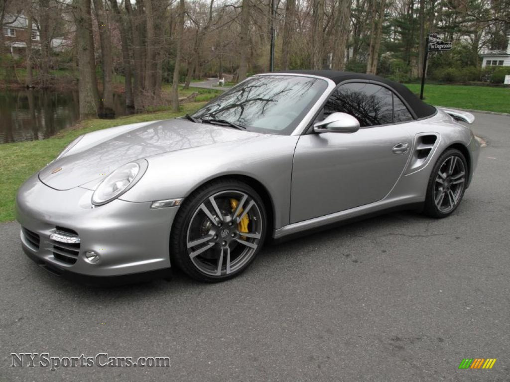 2011 Porsche 911 Turbo S Cabriolet in GT Silver Metallic - 773354 ...