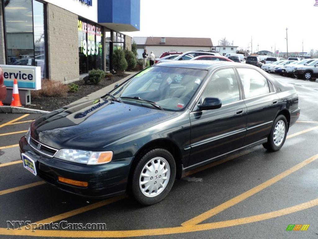 Vision Hyundai Canandaigua >> 1997 Honda Accord EX Sedan in Sherwood Green Metallic - 086535   NYSportsCars.com - Cars for ...