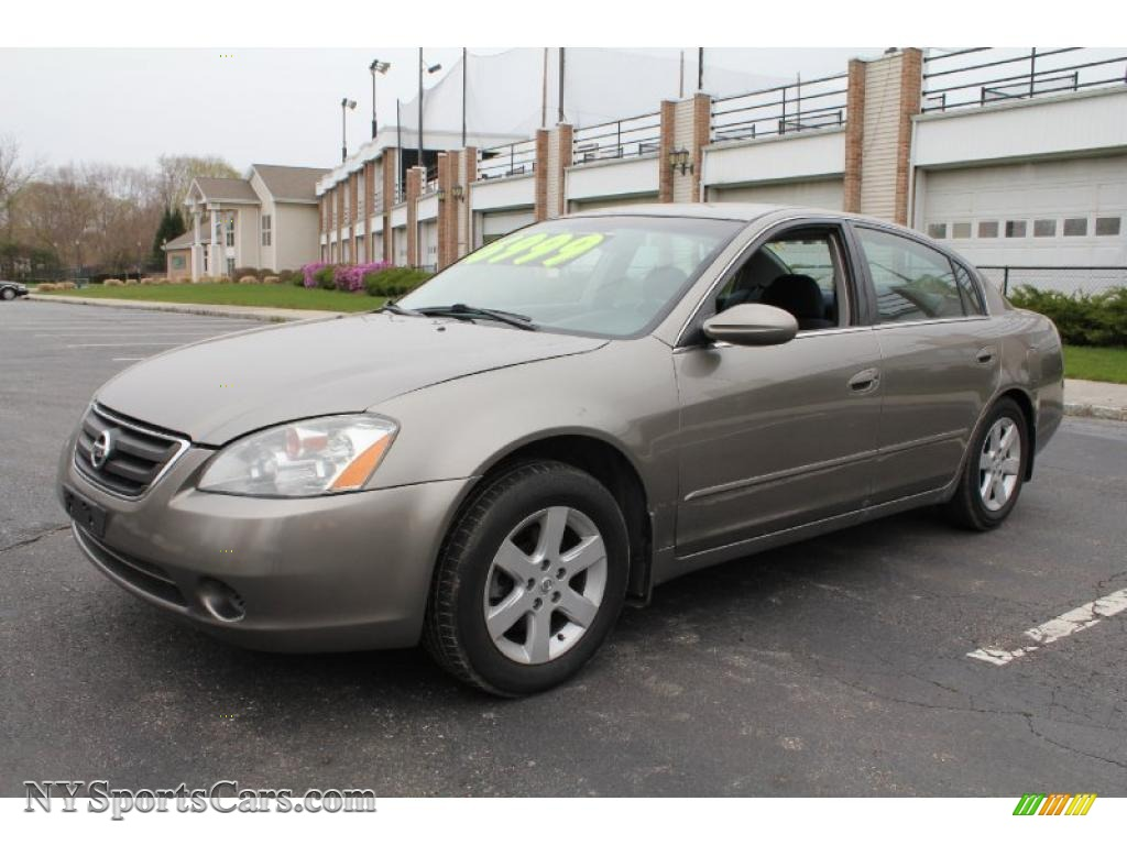2003 Nissan Altima 2 5 S In Polished Pewter Metallic
