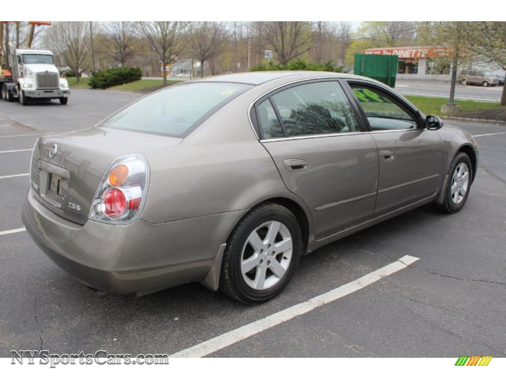 2003 Nissan Altima 2 5 S In Polished Pewter Metallic Photo