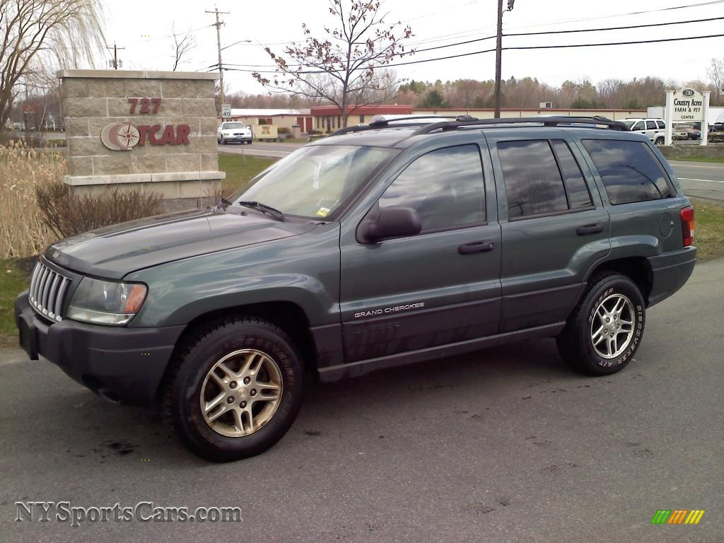 2004 jeep grand cherokee laredo 4x4 in onyx green pearl. Black Bedroom Furniture Sets. Home Design Ideas