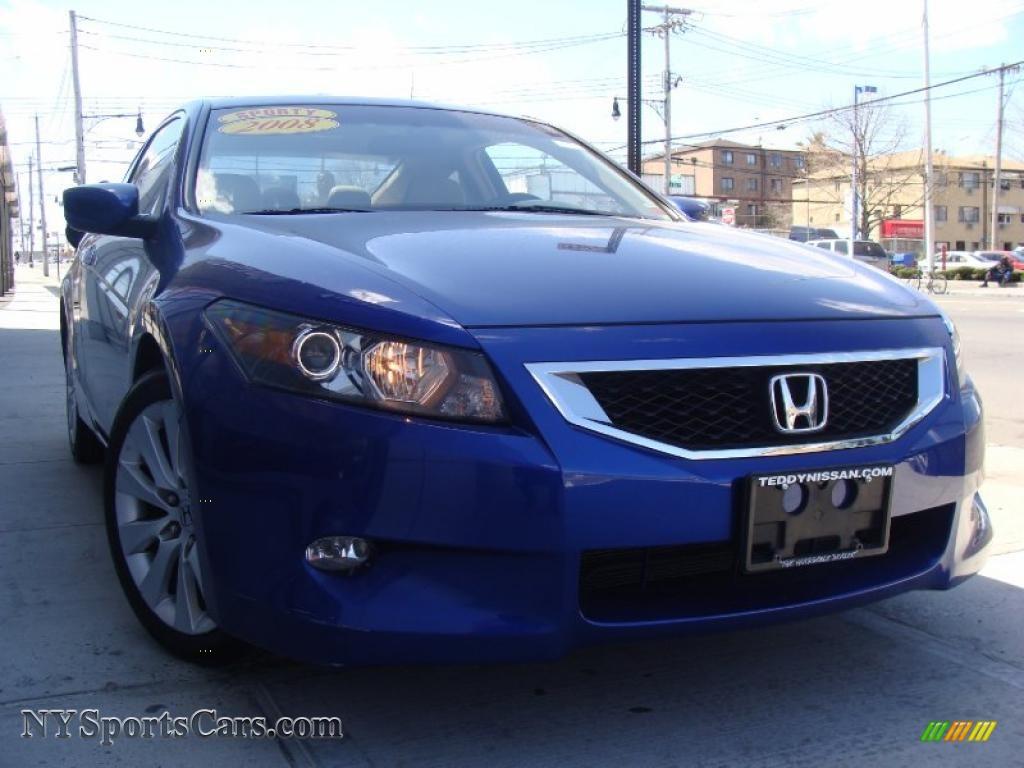 2008 honda accord ex l v6 coupe in belize blue pearl 003379 cars for sale. Black Bedroom Furniture Sets. Home Design Ideas