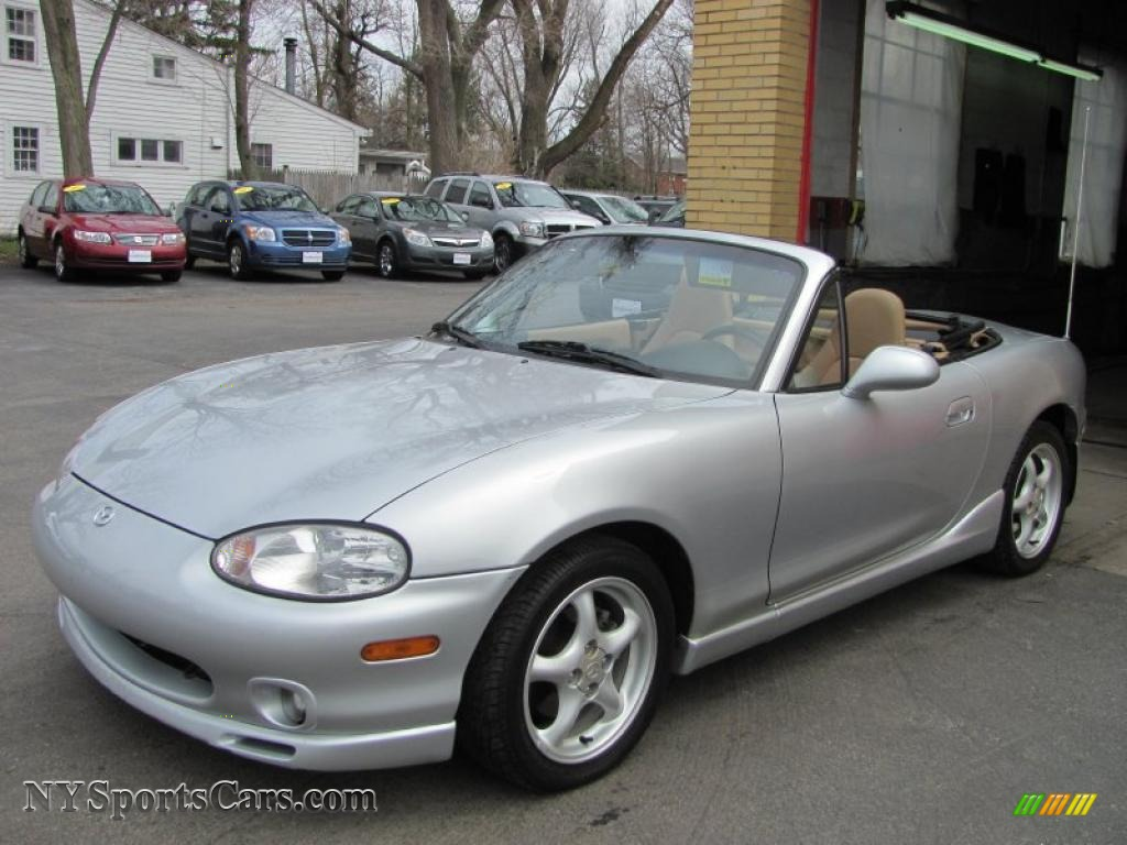 2000 Mazda Mx 5 Miata Ls Roadster In Highlight Silver Metallic 141177