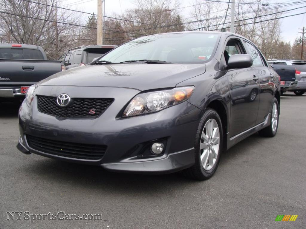 2009 Toyota Corolla S In Magnetic Gray Metallic 118644