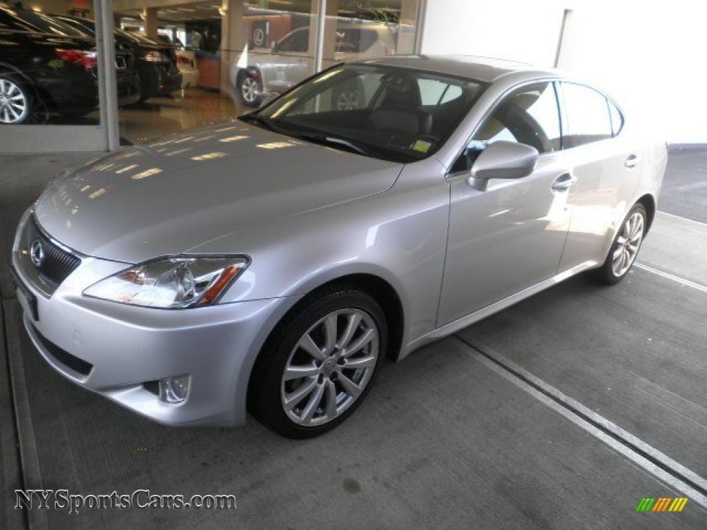 2008 Lexus Is 250 Awd In Tungsten Silver Pearl 022956