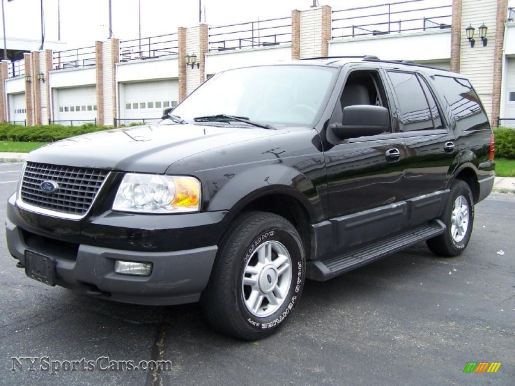 2003 Ford Expedition Xlt 4x4 In Black Clearcoat C27916