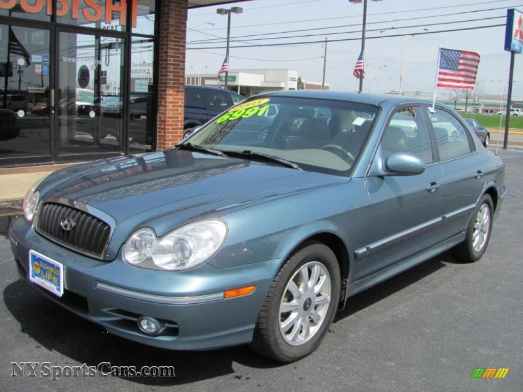 2005 hyundai sonata gls v6 in celadon green 095484 cars for sale in new york. Black Bedroom Furniture Sets. Home Design Ideas