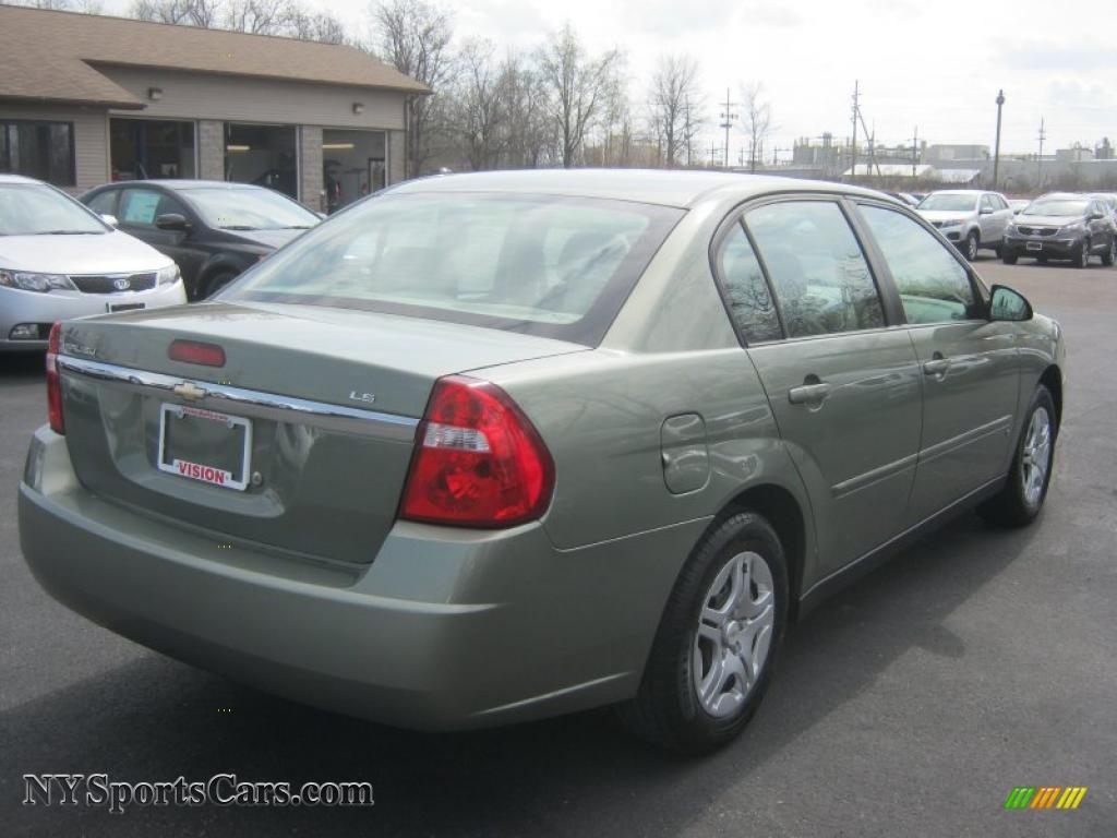 2006 Chevrolet Malibu Ls Sedan In Silver Green Metallic Photo 2 180204 Nysportscars Com