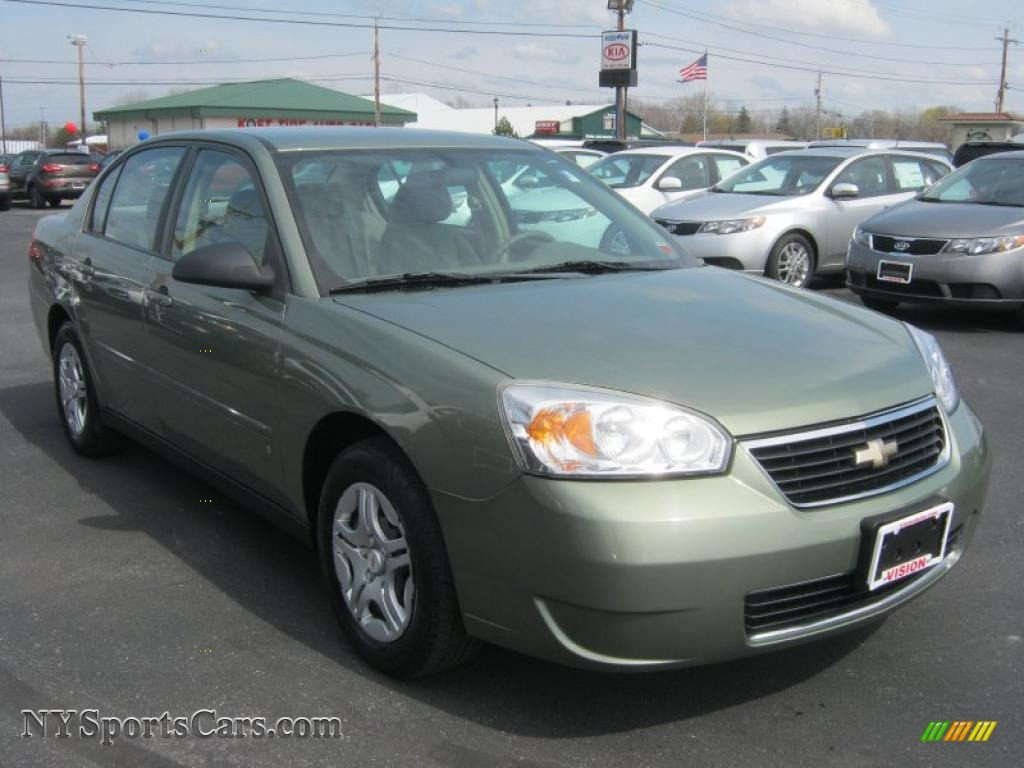 2006 Chevrolet Malibu Ls Sedan In Silver Green Metallic Photo 15 180204 Nysportscars Com Cars For Sale In New York