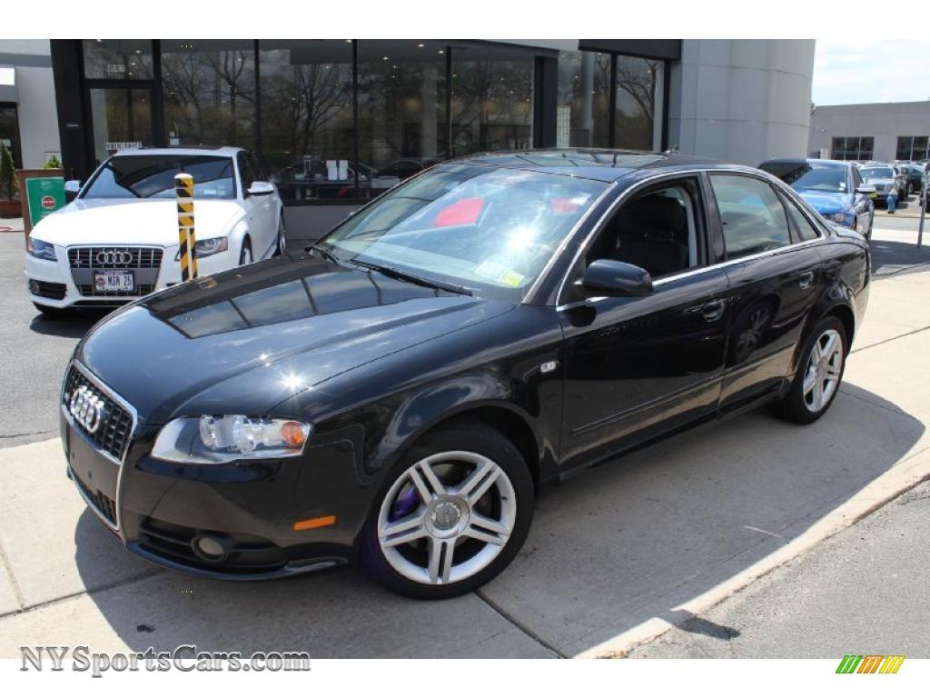 2008 audi a4 2 0t quattro s line sedan in brilliant black 048715 cars for. Black Bedroom Furniture Sets. Home Design Ideas