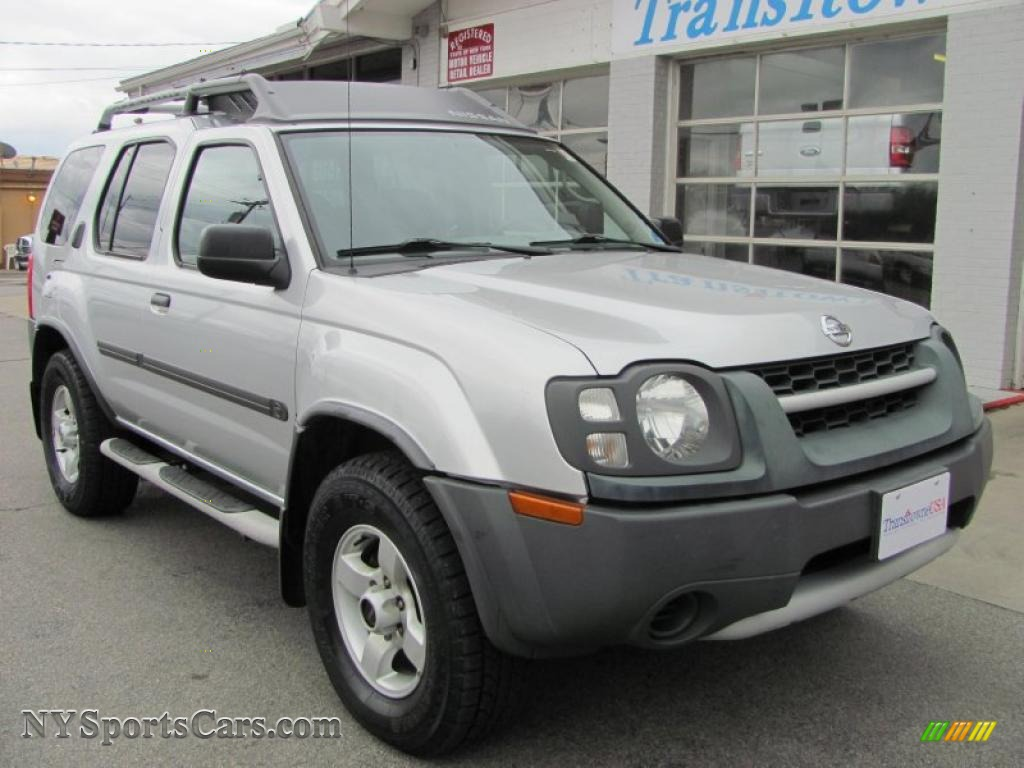 2004 nissan xterra xe 4x4 in silver lightning metallic. Black Bedroom Furniture Sets. Home Design Ideas