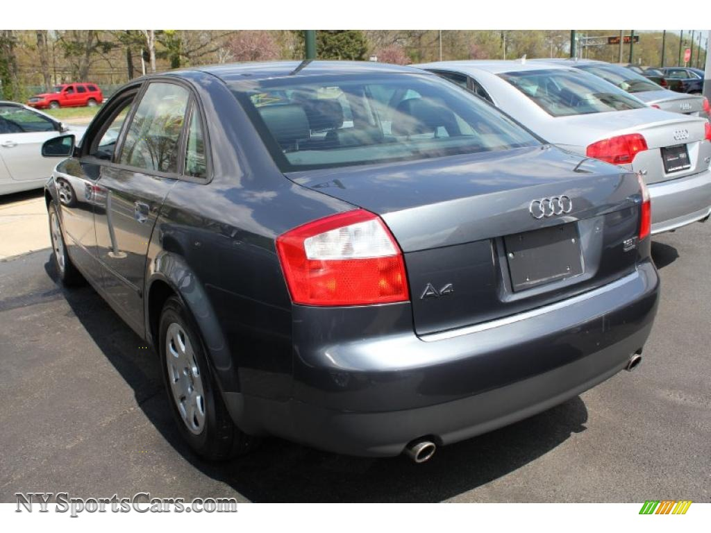 2002 audi a4 1 8t quattro sedan in dolphin grey pearl effect photo 3 308210 nysportscars com cars for sale in new york nysportscars com