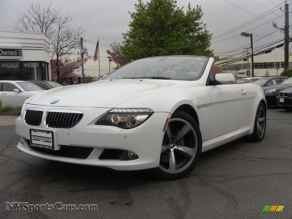 2008 bmw 6 series 650i convertible in alpine white x63664 cars for sale. Black Bedroom Furniture Sets. Home Design Ideas
