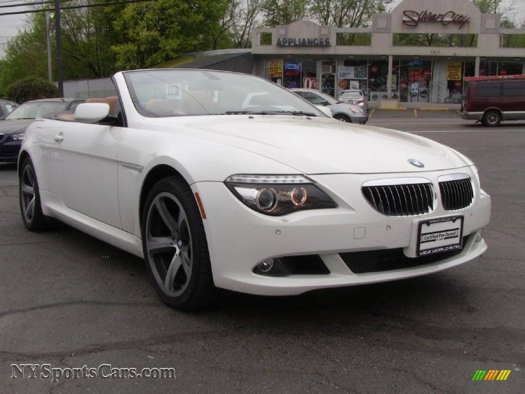 2008 bmw 6 series 650i convertible in alpine white photo 3 x63664 cars. Black Bedroom Furniture Sets. Home Design Ideas