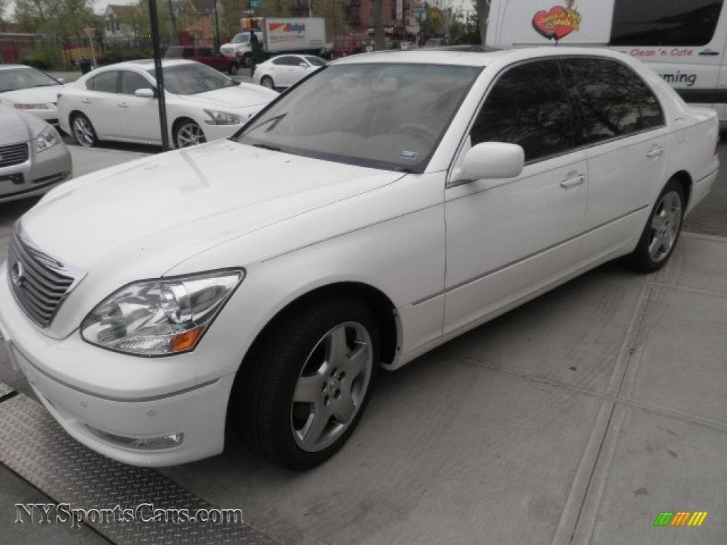 2006 lexus ls 430 in crystal white 041663 cars for sale in new york. Black Bedroom Furniture Sets. Home Design Ideas