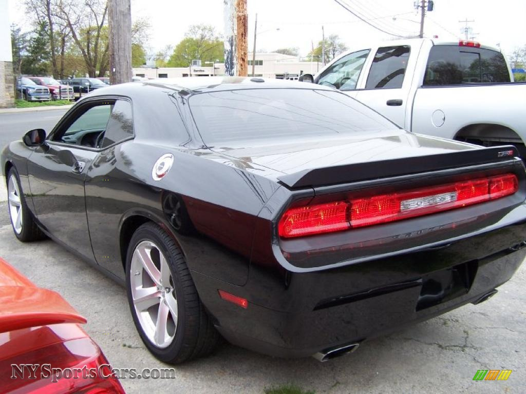 2009 challenger srt8 brilliant black crystal pearl coat dark slate gray photo 2