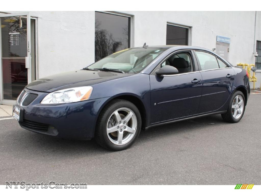 2008 Pontiac G6 V6 Sedan In Midnight Blue Metallic