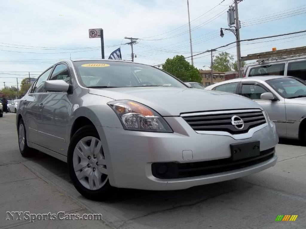 2009 nissan altima 2.5 s in radiant silver metallic - 507619