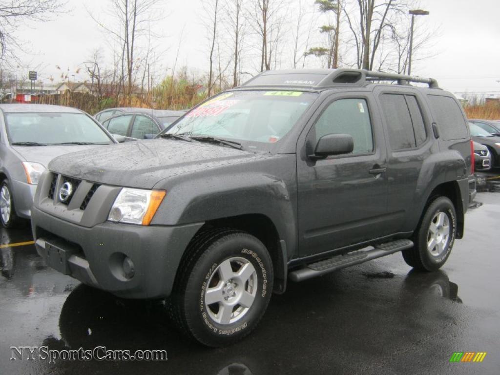 2008 Nissan Xterra S 4x4 In Night Armor Dark Gray 539438