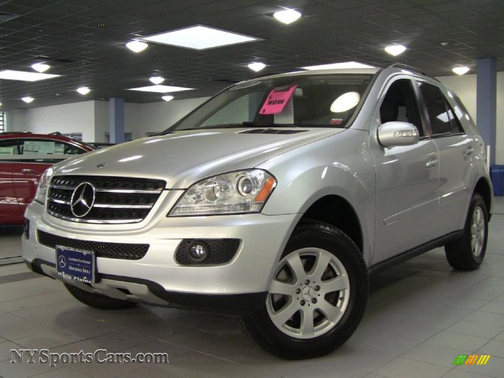 2007 mercedes benz ml 350 4matic in iridium silver for Mercedes benz ml 350 2007