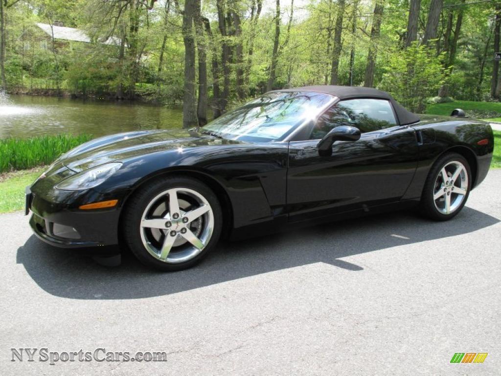2005 chevrolet corvette convertible in black 136712 cars for sale in new york. Black Bedroom Furniture Sets. Home Design Ideas