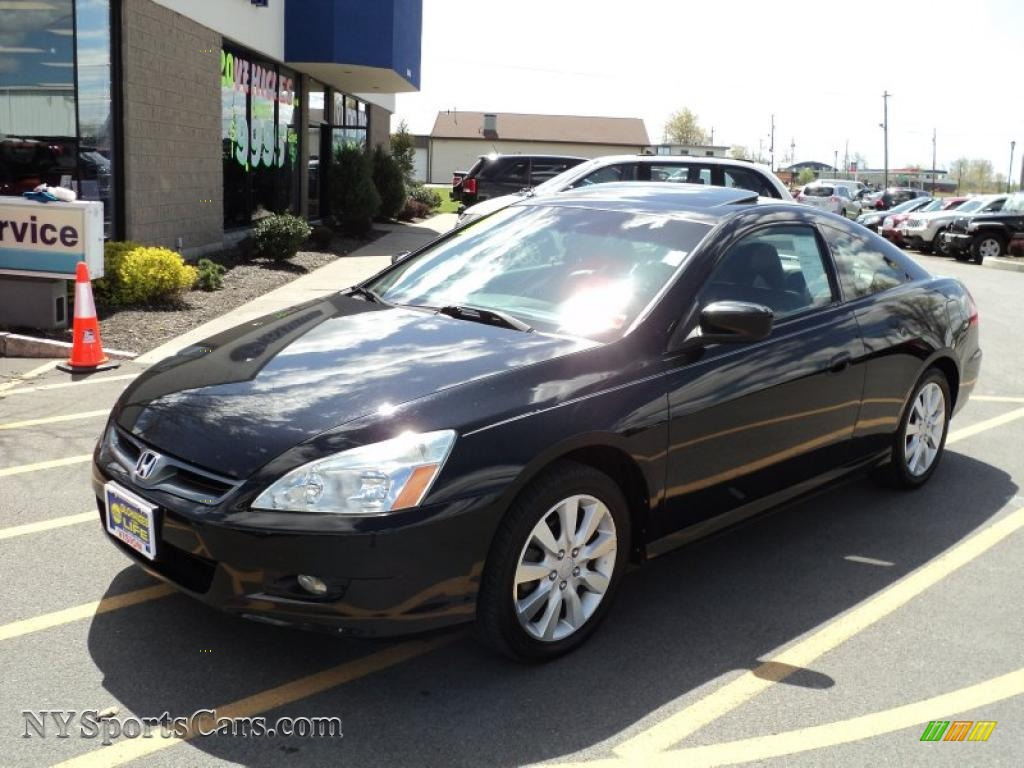 2006 Honda Accord Ex V6 Coupe In Nighthawk Black Pearl 000391 Nysportscars Com Cars For