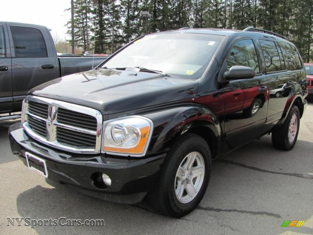 2004 dodge durango slt 4x4 in black 187966. Black Bedroom Furniture Sets. Home Design Ideas
