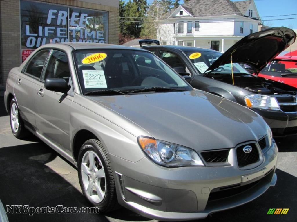2006 subaru impreza 2.5i sedan in crystal gray metallic - 517317
