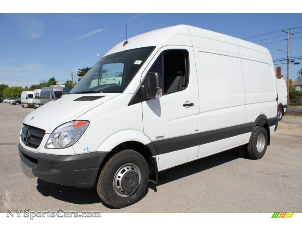 2011 Mercedes Benz Sprinter 3500 High Roof Cargo Van In