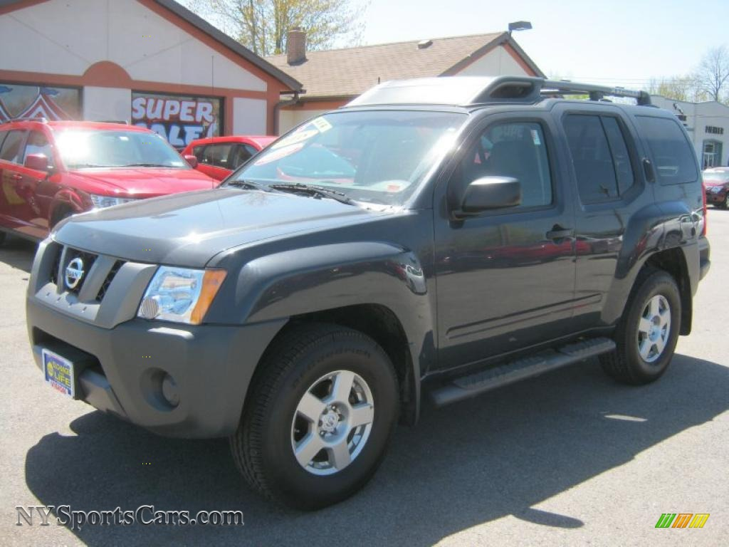 Night armor dark gray steel graphite nissan xterra s 4x4