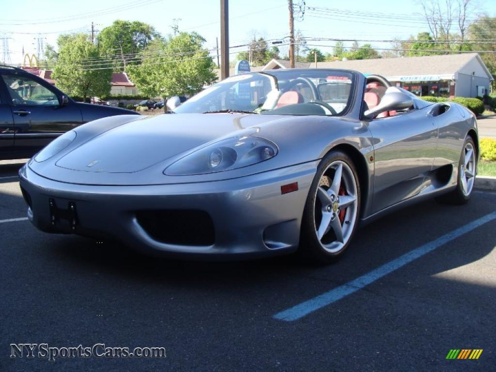 2005 ferrari 360 spider f1 in titanium 140066 cars for sale in new york. Black Bedroom Furniture Sets. Home Design Ideas