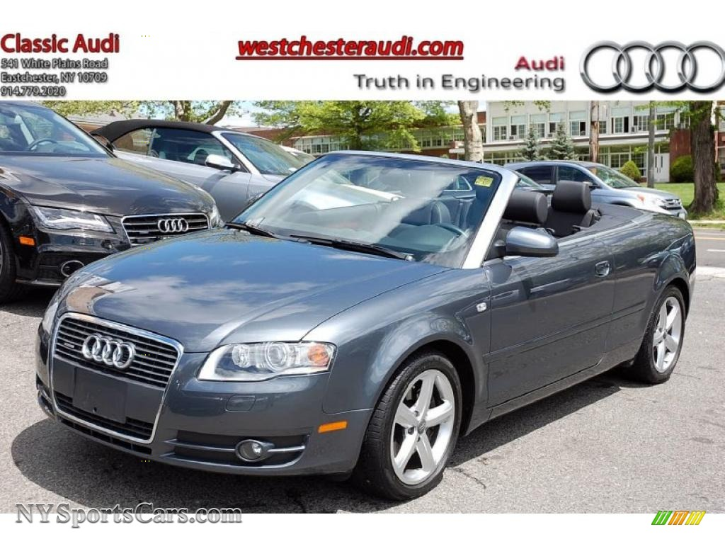 2008 audi a4 3 2 quattro cabriolet in dolphin grey. Black Bedroom Furniture Sets. Home Design Ideas