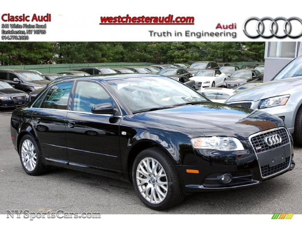 2008 audi a4 2 0t quattro s line sedan in brilliant black 161797 cars for. Black Bedroom Furniture Sets. Home Design Ideas