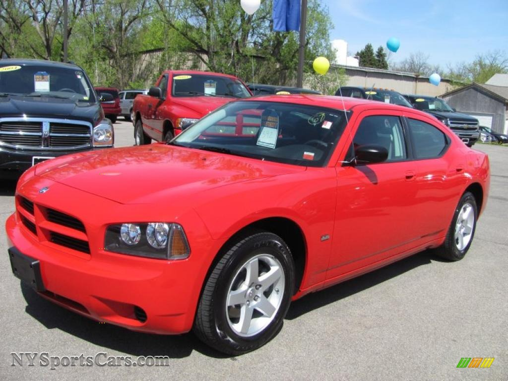 2008 red charger
