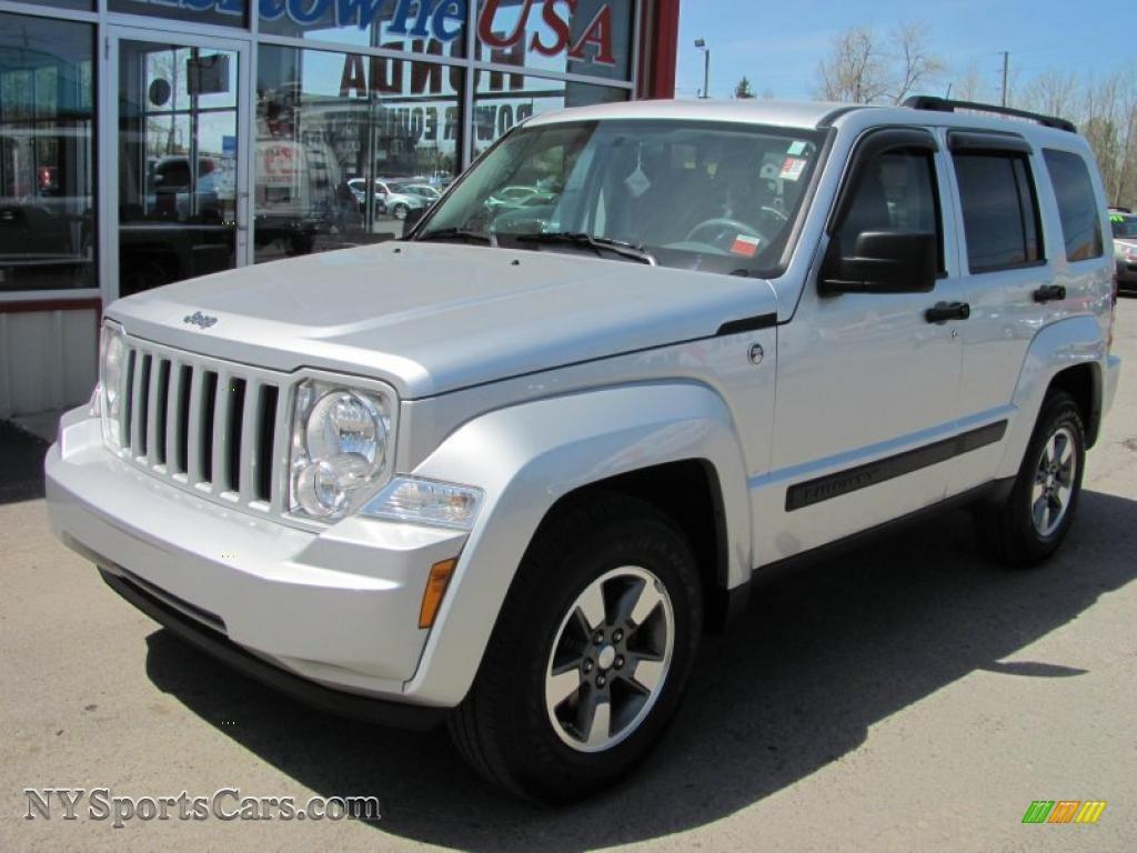 2008 jeep liberty sport 4x4 in bright silver metallic - 105868