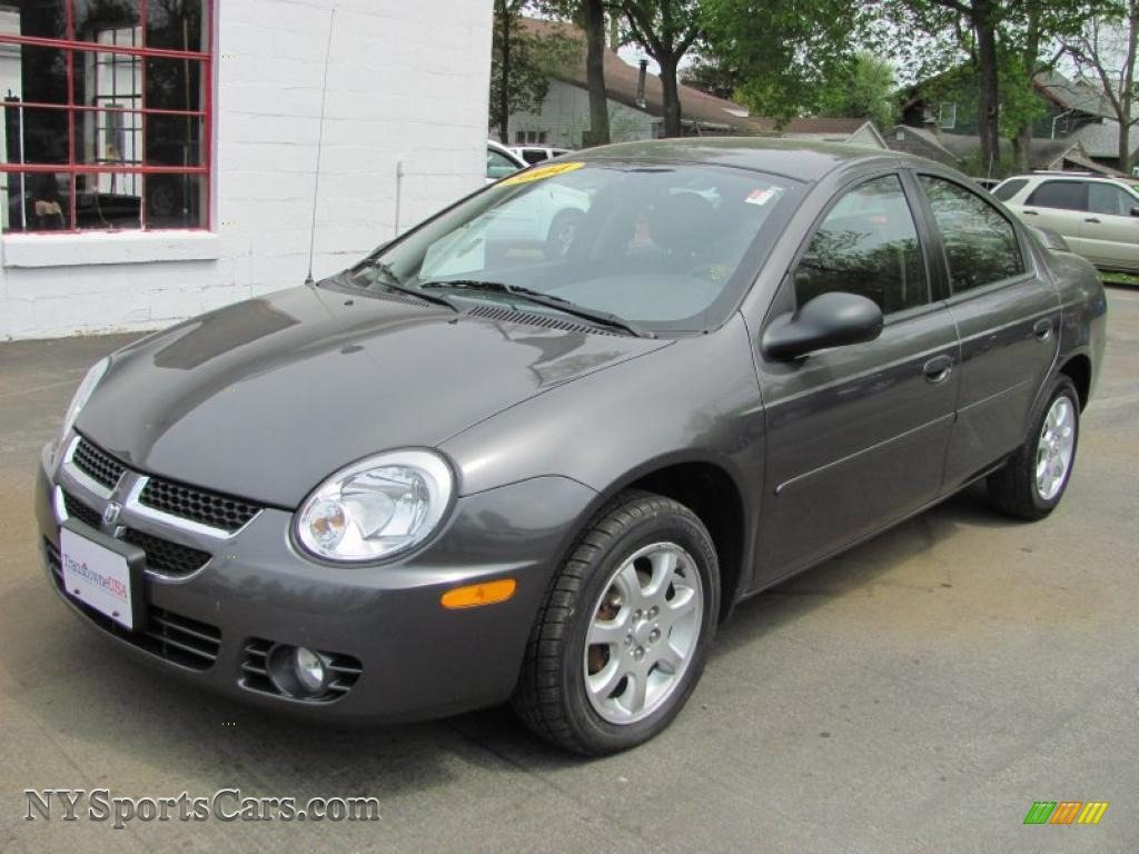 Dodge Caravan For Sale >> 2004 Dodge Neon SXT in Graphite Metallic - 564927 | NYSportsCars.com - Cars for sale in New York