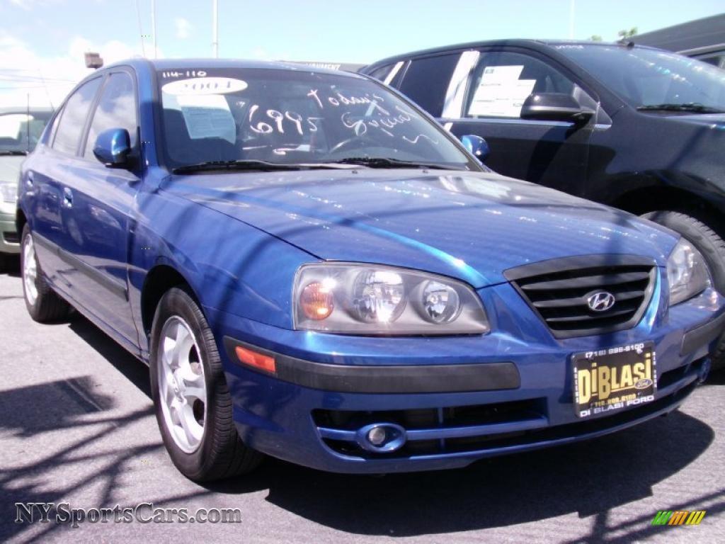 2004 hyundai elantra gt sedan in tidal wave blue 808975. Black Bedroom Furniture Sets. Home Design Ideas