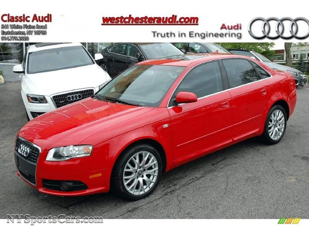 2008 audi a4 2 0t quattro s line sedan in brilliant red 153140 cars for. Black Bedroom Furniture Sets. Home Design Ideas